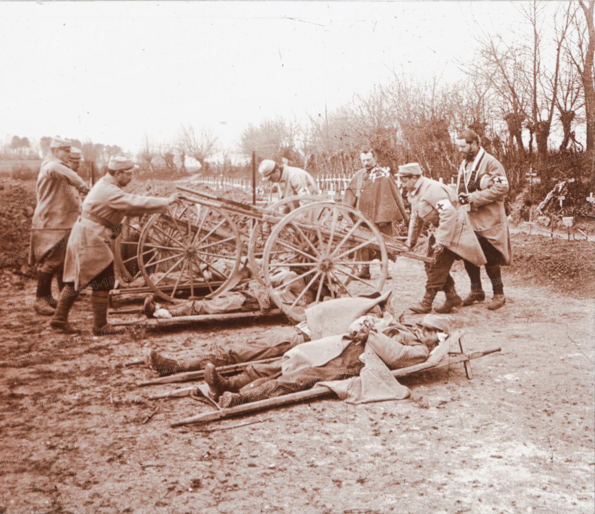 Arrivée des morts (Villers-aux-Bois)