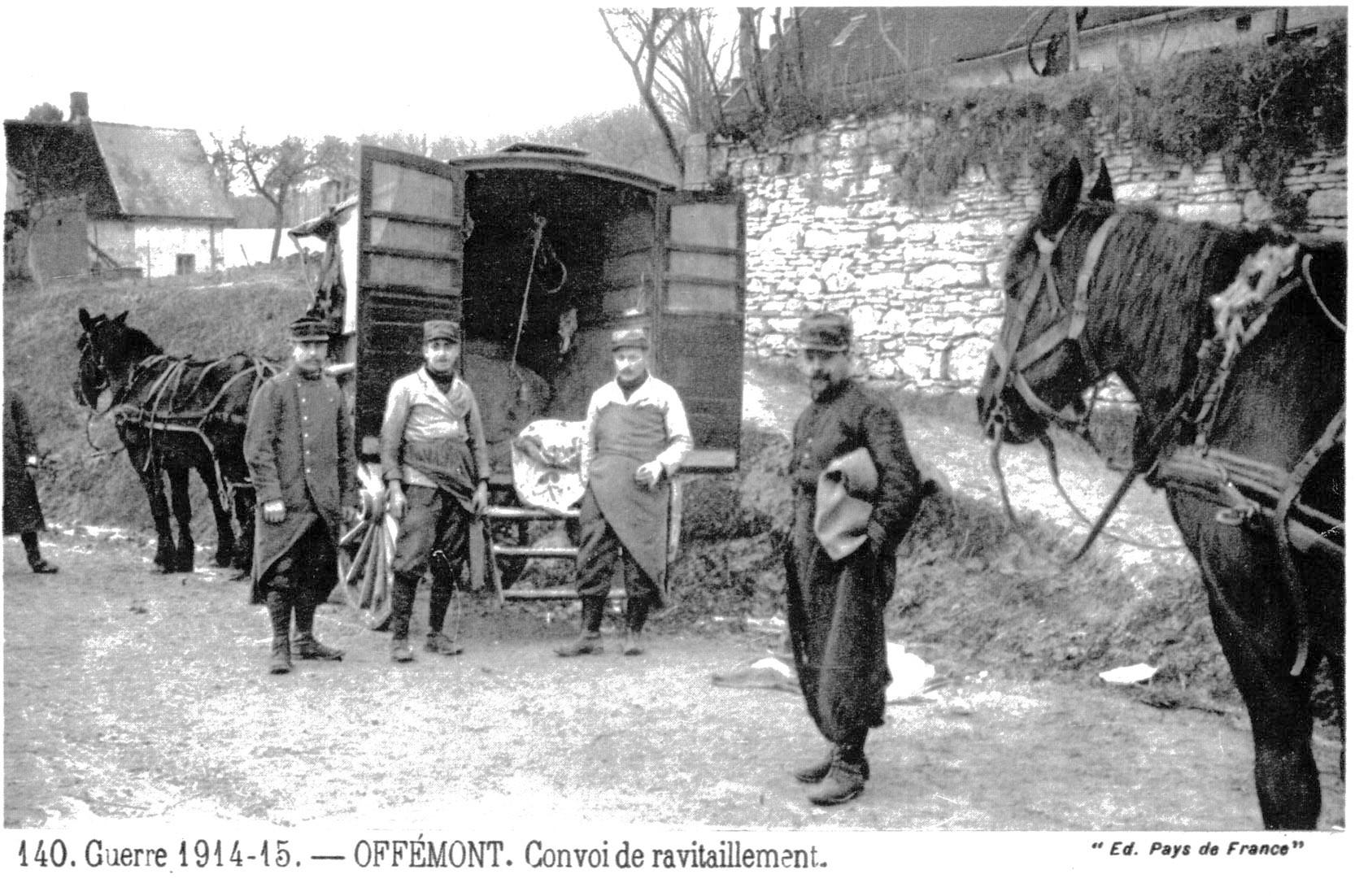 Lieu:Saint Crepin aux Bois - Description:GUERRE 1914-15 - OFFEMO
