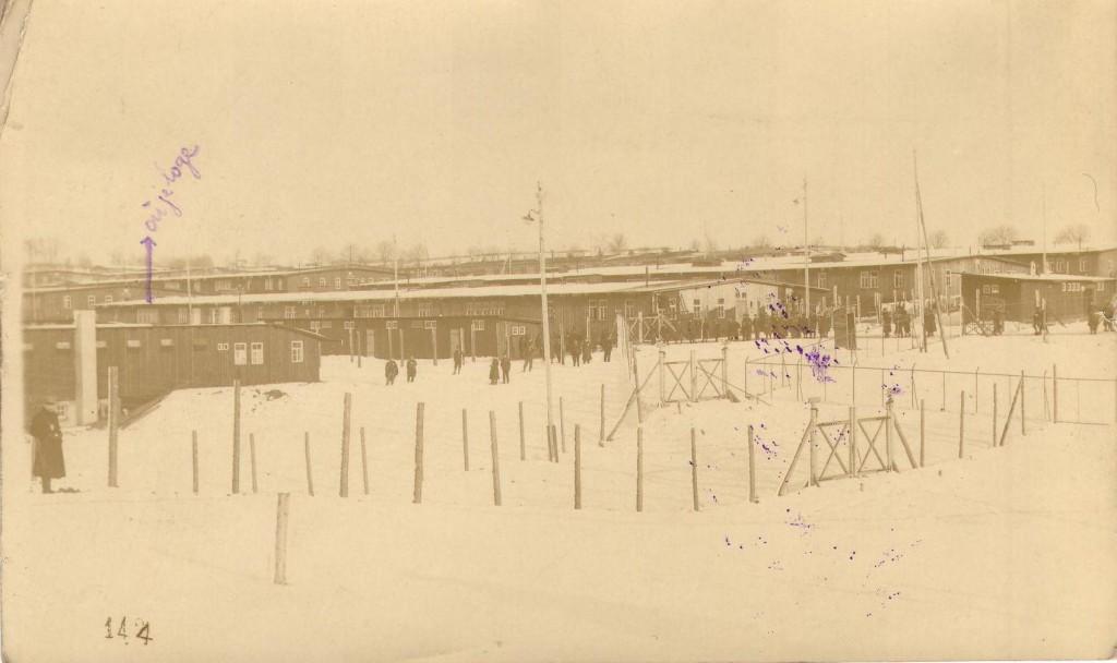 Camp de prisonnier d Ohrdruf 9 janvier 1916