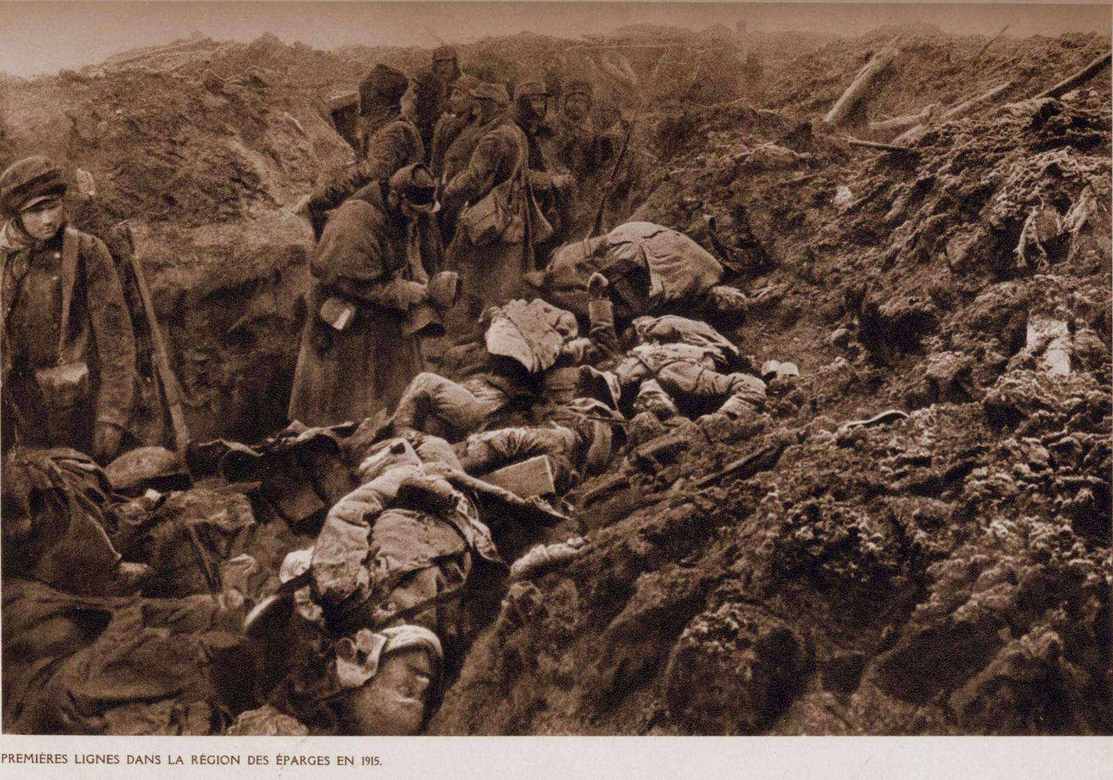 14-18-Premieres-lignes-dans-la-region-des-Eparges.-1915